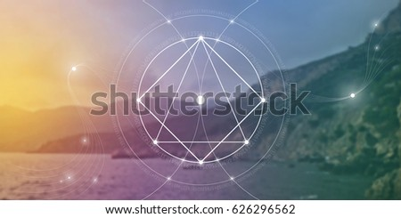 sacred geometry website banner
