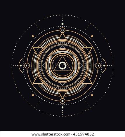 sacred symbols design