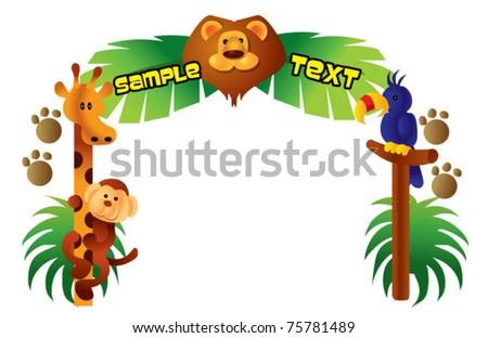 safari border