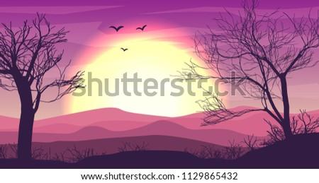 safari cartoon background