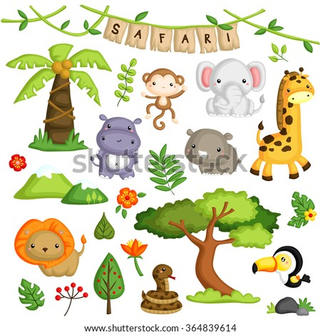 safari forest animal