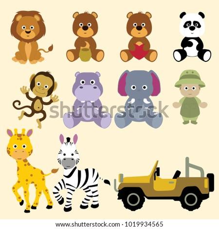 Safari, savanna and jungle