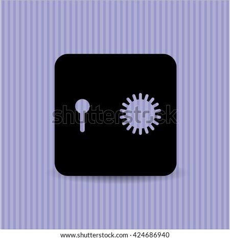 Safe (Safety deposit box) symbol