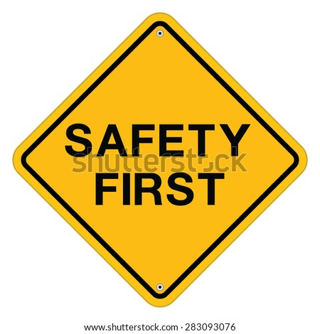 safety first symbol stock vectors