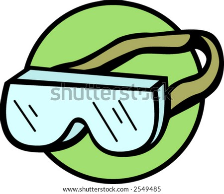 Safety Goggles Vector Safety Goggles With Head Strap