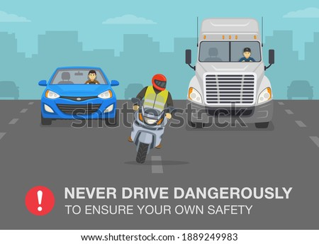 safety motorcycle driving rule