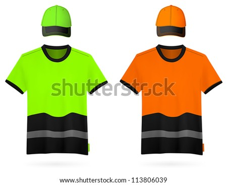 Safety Green t Shirt Safety Reflective Shirts And