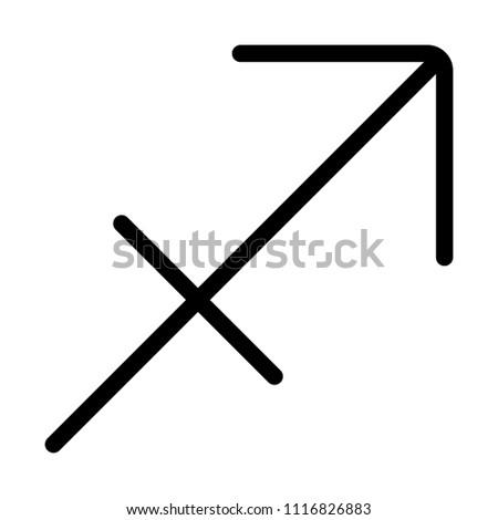 Sagittarius Zodic Symbol #1116826883
