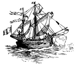 sailboat pirate old ship sailboat sailboat pirate old ship tour jack water survey activity boat travel holiday frigate action rope expedition ripple guide wind elderly transport ocean wave journey flo