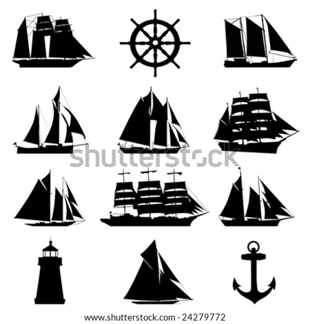 Sailboat logo design | Boat plan ideas