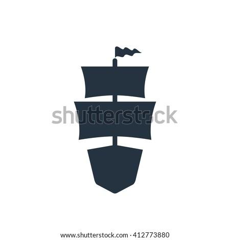 sailing ship front