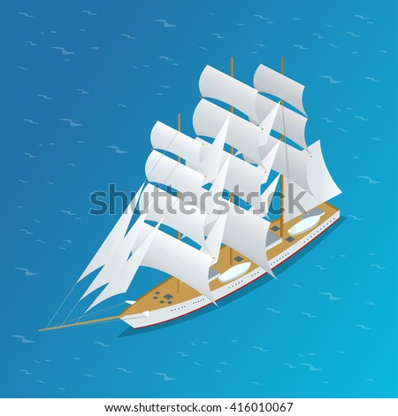 sailing ship  old sailing ship