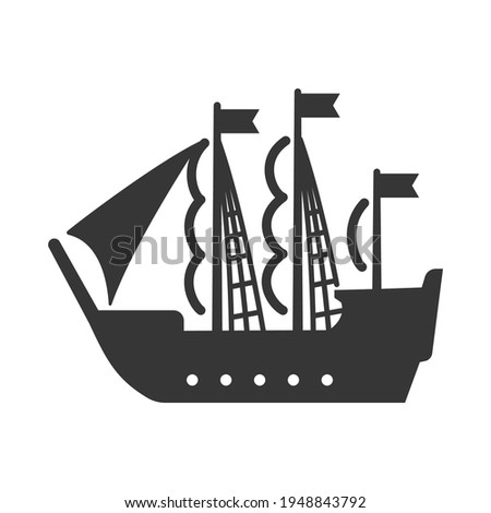 sailing ship  pirate vessel