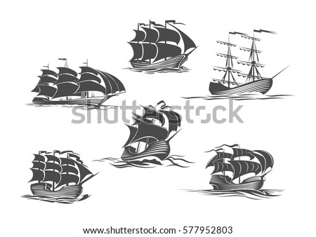 sailing ship  sailboat  yacht