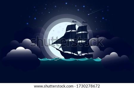 sailing vessel a battleship or