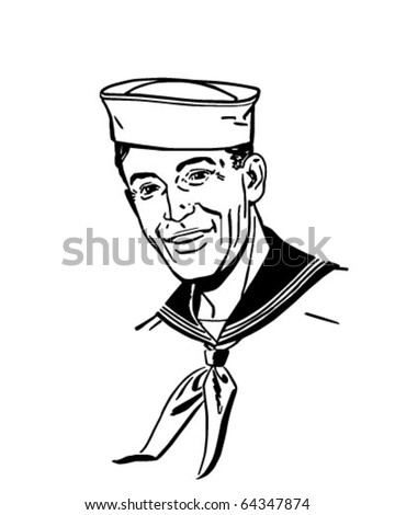 sailor   retro clipart