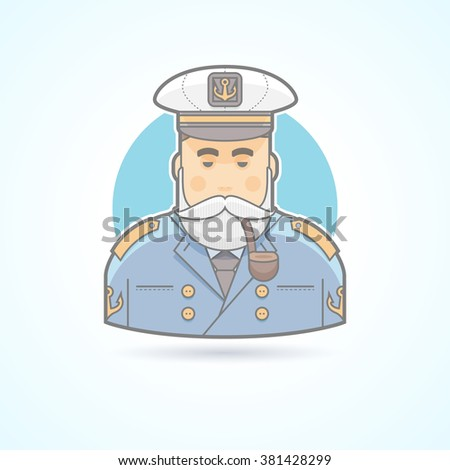 sailor  ship captain  flag