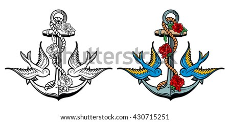 sailor spirit anchor with