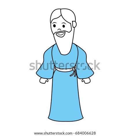 saint joseph cartoon