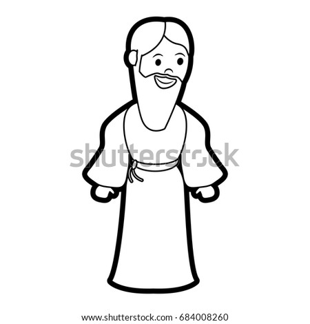 saint joseph cartoon
