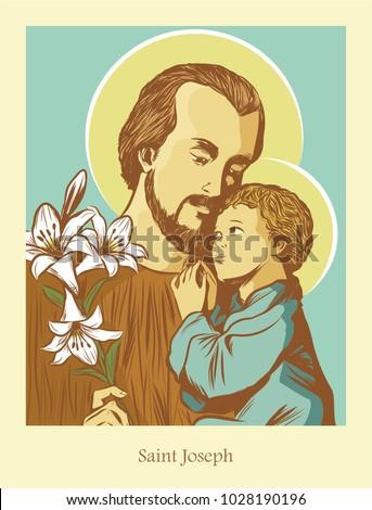 Saint Joseph the husband of Mary