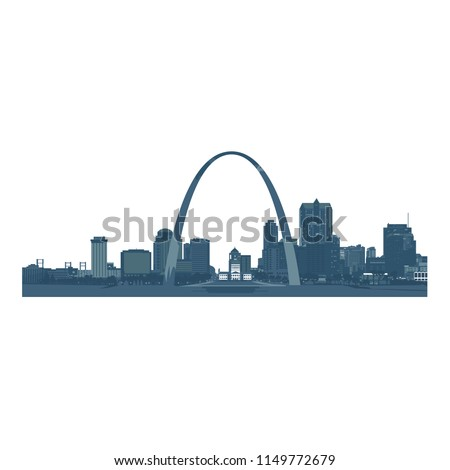 saint louis city skyline