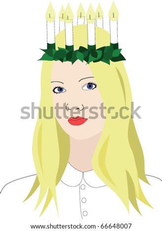 saint lucia with crown of