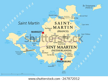 saint martin island political