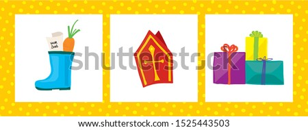 saint nicholas child holiday images handdrawn  Stock photo ©