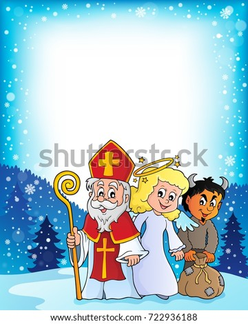 Saint Nicholas Day theme 3 - eps10 vector illustration.