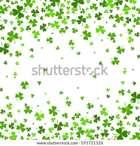 saint patrick's day border with