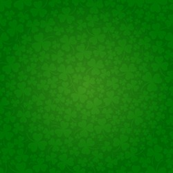 Saint Patrick's day seamless background