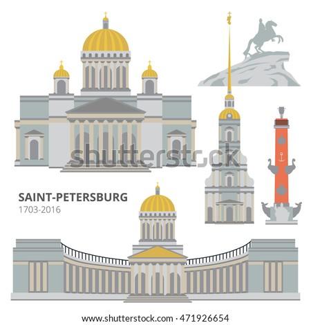 saint petersburg flat cityscape