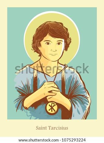 Saint Tarcisius patron saint of altar servers and first communicants