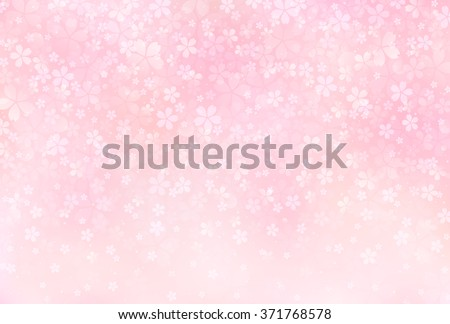 sakura blossoms background