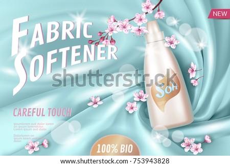 sakura flower fabric softener