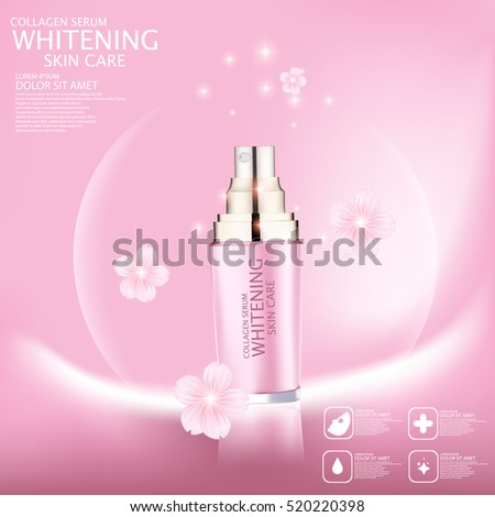 sakura whitening serum for skin