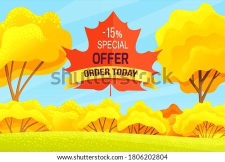 sale autumn  promo action   15