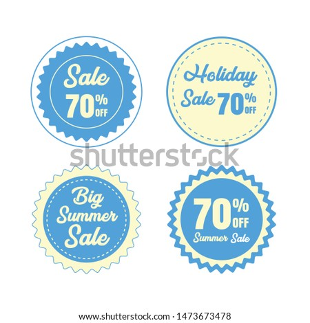 Sale Badge,Vector Badge, Labels and Ribbons