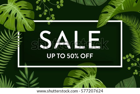sale banner  poster with