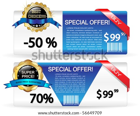 Sale banners-Vector