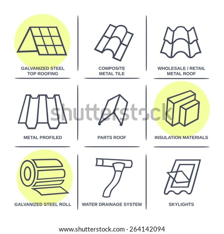 sale buildings materials  roof
