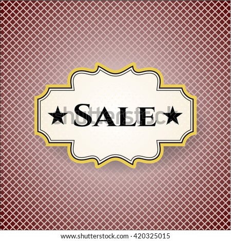 Sale colorful banner