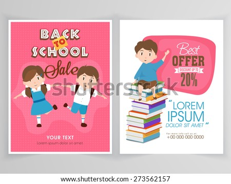 sale flyer  template or banner