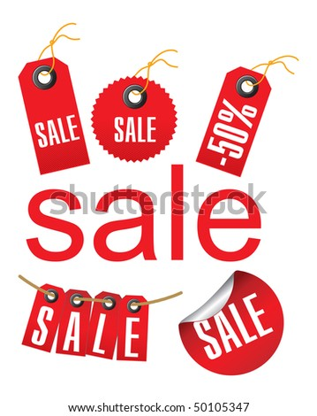 Sale label set