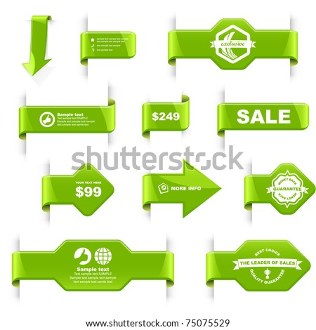 Sale label. Special offer tags and badges. Best coupon for advertising.