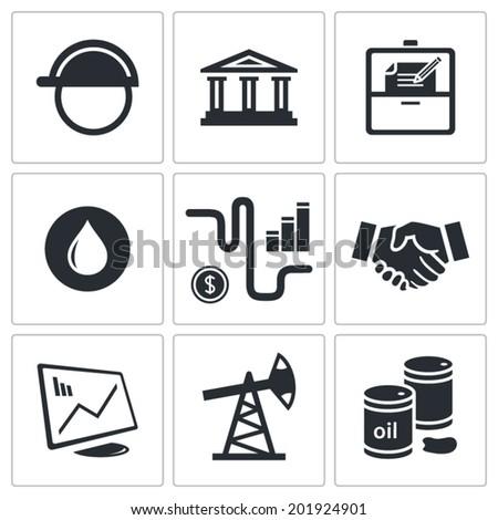 Production Set Products Icon Set