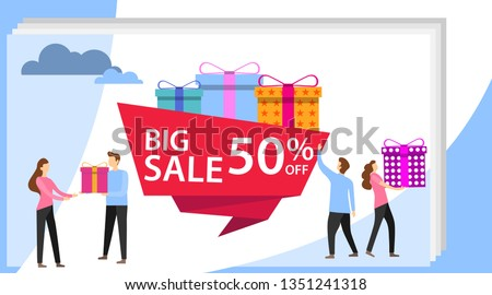 sale poster and flyer with