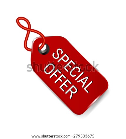 Special Offer on Goods.vector