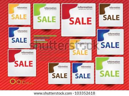 Sale tag,Banner,Vector